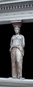 Caryatid from the Erechtheion