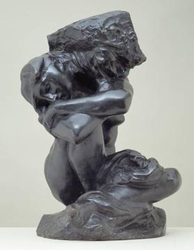 Rodin's Fallen Caryatid